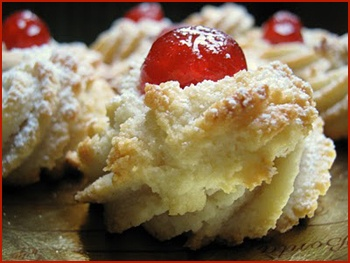 Elegant little almond pastries from Palermo master pastry chef Santi Palazzolo lure natives and tourists like.