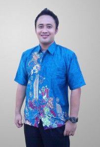 Baju Batik Sunwash Pria Motif Abstrak Semi Sutra Kode BS 39 SMS ke 082134923704