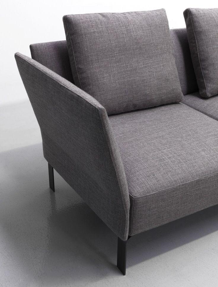 Corner fabric sofa JERMYN - Lema