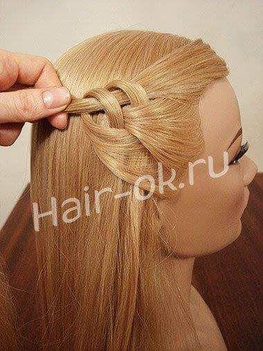Peinados bonitos en forma de corazón (7 imágenes)