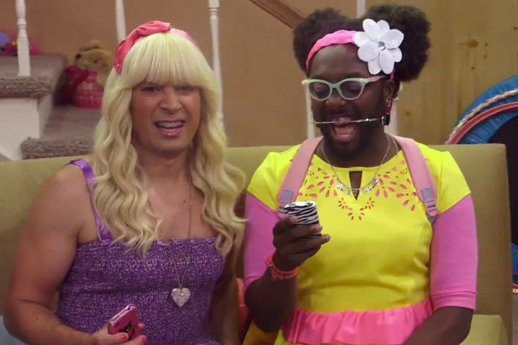 Ew! by Sara and Mir.i.am (Jimmy Fallon and Wil.I.Am)