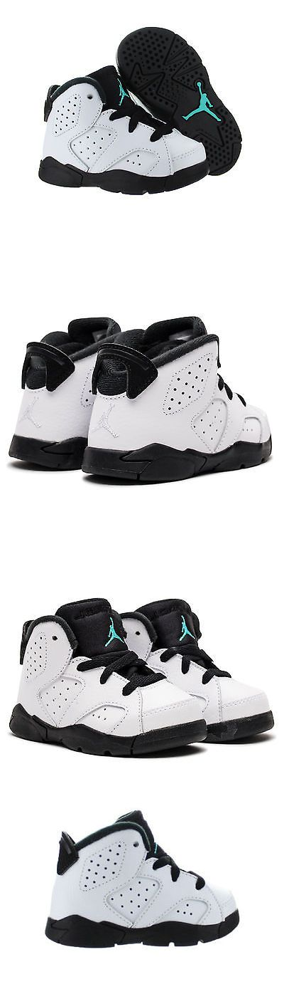 Baby Shoes 147285: Size 5 Children Toddler Nike Air Jordan 6 Hyper Jade  Athletic Fashion