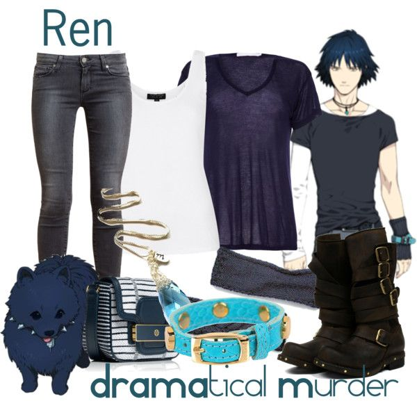 Thought I do a set for one of my favorite boys from DMMD!   For those of you who are confused, Ren is both the dog AND the human. It's a really long story and i...