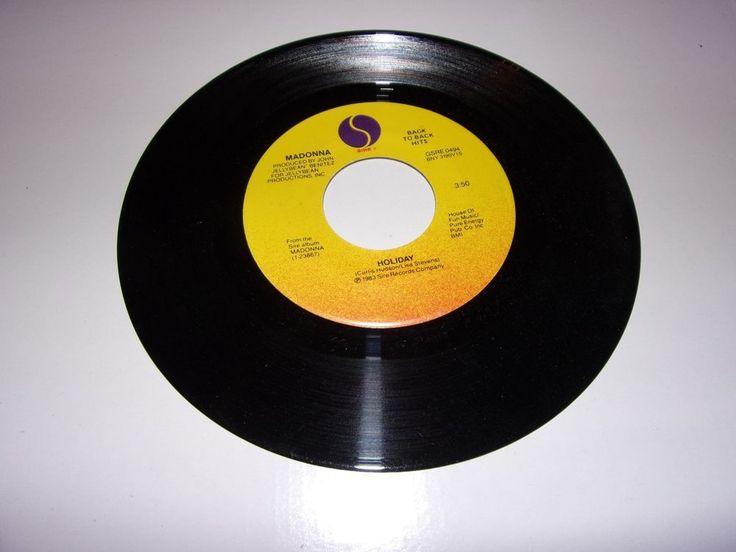 """45"""" Madonna: Holiday / Borderline / Vinyl / Near Mint #1980sBritpopDancePopEuropopNewWavePopRock"""