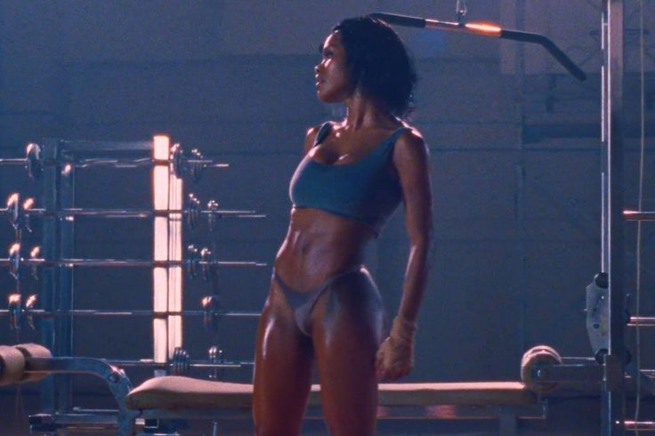 """Teyana Taylor stars in Kanye West's video for """"Fade."""" Courtesy of Tidal."""