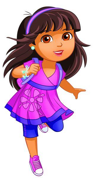 Dora PNG Clip Art Image