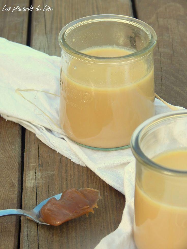 Crèmes au caramel beurre salé
