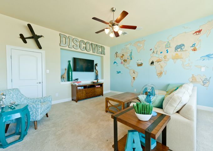 House of Turquoise: The ML Group - THIS MAP OF THE WORLD WALL MURAL IS AMAZING.  I WANT ONE !!!