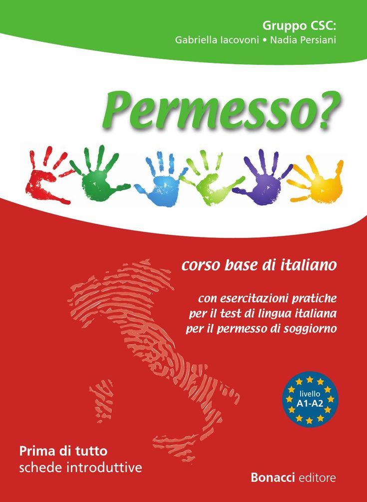 14 best italian for foreigners images on pinterest book for Test di italiano per permesso di soggiorno