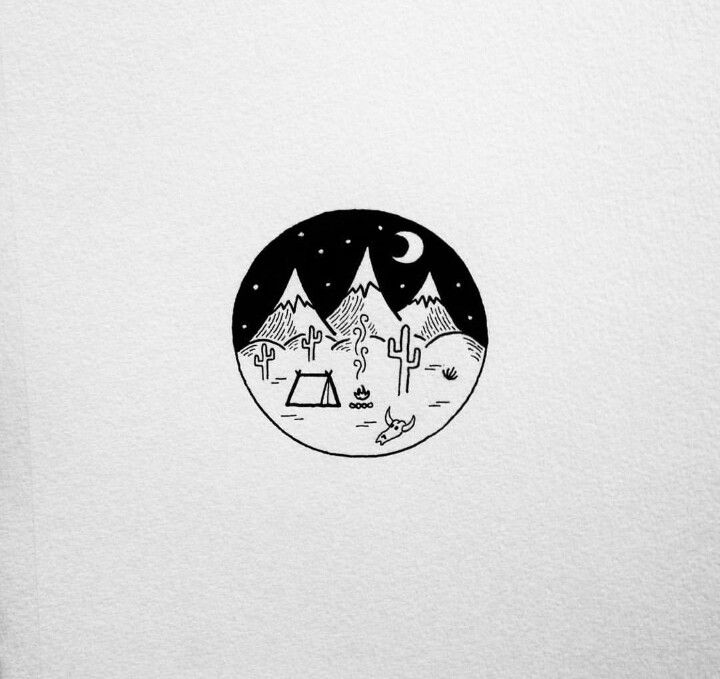Черно белые картинки минималистические