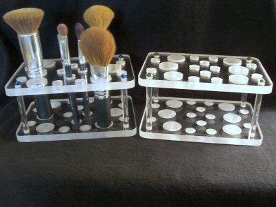 Einzigartiger Make-up Pinselhalter – Vanity Ideas / Organization / Decorations – …   – Make-Up Aufbewahrung