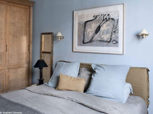 1000 ideas about chambre bleu on pinterest chambre - Chambre adulte bleue ...