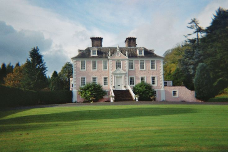 Craigdarroch House near Moniaive, Dumfries and Galloway, Scotland. It was built by William Adam in 1729.