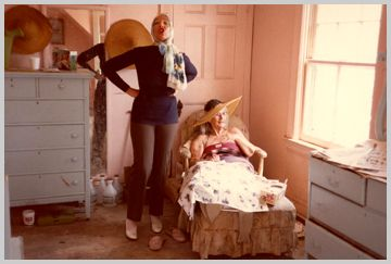 Big Edie and Little Edie- true artistic inspirations and anathemas unto themselves  MAYSLES FILMS : GREY GARDENS