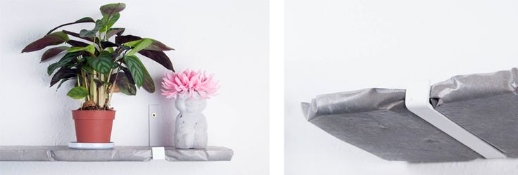 CONCRETEDICTION  concrete shelf by AB Concrete Design, disproving stereotypes  #concrete #teddy #shelf #flower