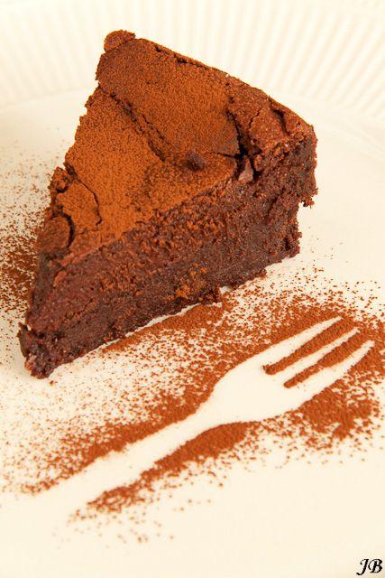 Ottolenghis chocoladefudge taart