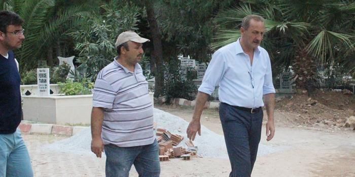 Didim'de mezarlıklar yenileniyor