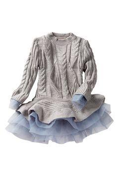 Love this sweater dress.