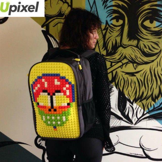 #Upixel как искусство, пусть даже это и мексиканский череп (калавера)! А у Вас как день проходит? Расскажите и заодно закажите рюкзак в Whatsapp/Viber ⁺7 903 961 07 56 #рюкзак #классныйрюкзак #mexicanscull #upixelart #lego #лего #необычно #ярко #стритарт #calavera