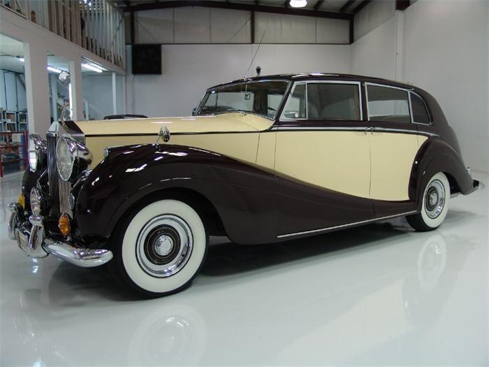'56 Rolls Royce Silver Wraith Limousine