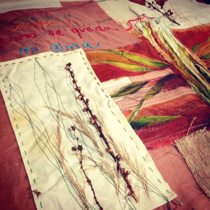 Cecilia Contreras Ritual 2015/2016 Arte textil Bordado contemporáneo Técnica mixta