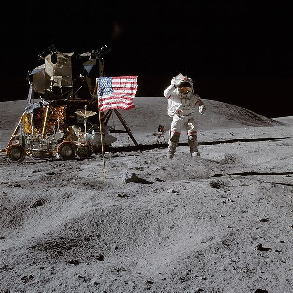 40 Years Since the Apollo 16 Moon Landing -- somehow seems like even longer, doesn't it?