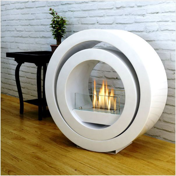 Imagin Fires Sphere Bio-Ethanol Real Flame Freestanding Fireplace + 6 x 1L Fuel on eBid United Kingdom