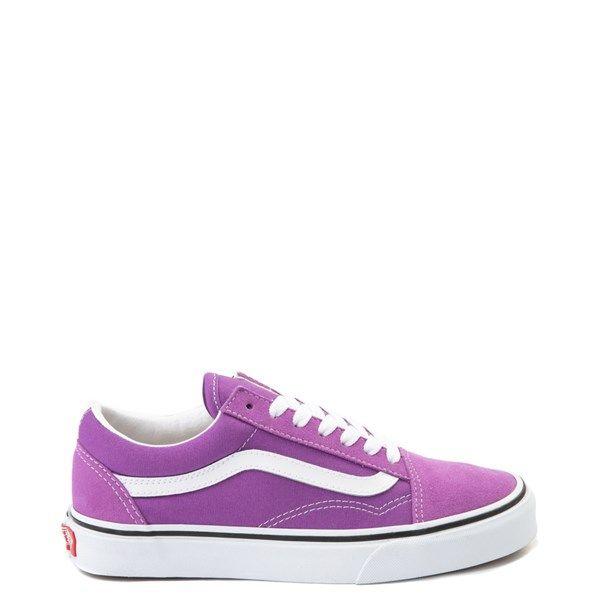 Vans old skool, Skate shoes, Purple vans