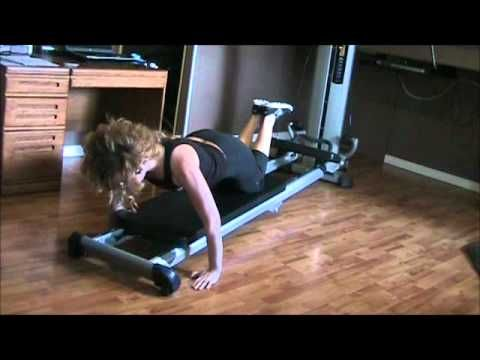 """Total Gym Inside blogger and """"Fytness Fanatik"""" Amanda Lynn Mayhew shares her """"Low & Strong"""" workout to strengthen and tone your core and reduce the chances of injury while keeping the resistance low on your Total Gym."""