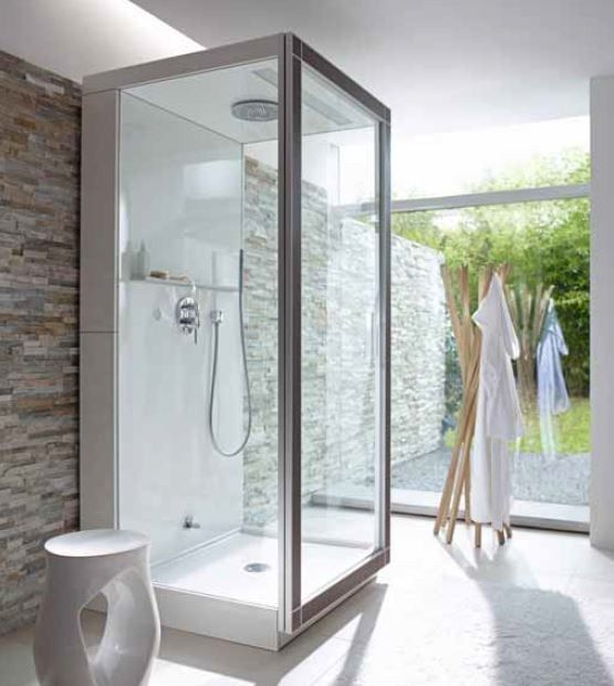 Steam Shower Cabin ST.TROP | Steam Shower Cabin   DURAVIT