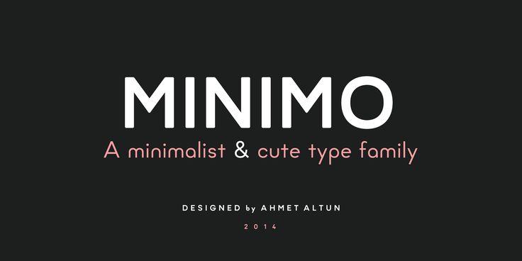 Minimo Font Family