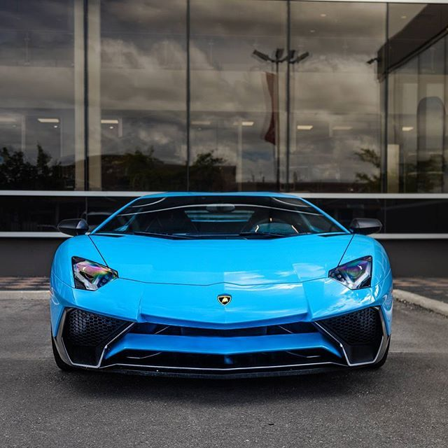 My favorite Lamborghini aventador spec in Toronto #needtoseeitagain #gulfspec #montereylocals - posted by Stefan Pop https://www.instagram.com/popz.s - See more of Monterey Car Shows at http://montereycarshows.com