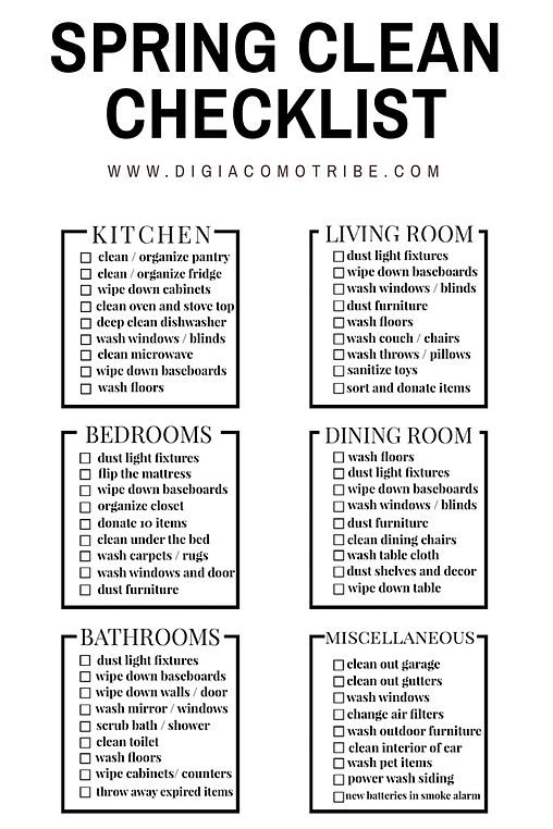 Best Cleaning SchedulesChores For Kids Images On