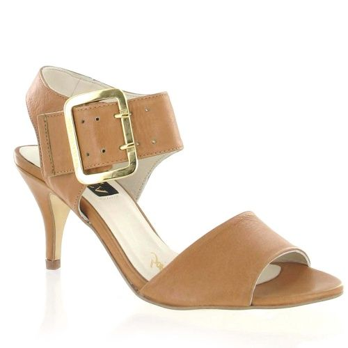 Tan Leather Strappy Sandal with Buckle, Was £95, Now £66.50 #sandals #fashion