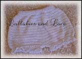 Simple Baby Bloomers free crochet pattern