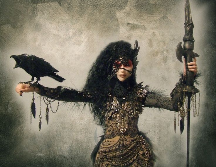 The Morrigan derives from Irish Celtic mythology and is known as the ...                                                                                                                                                     More