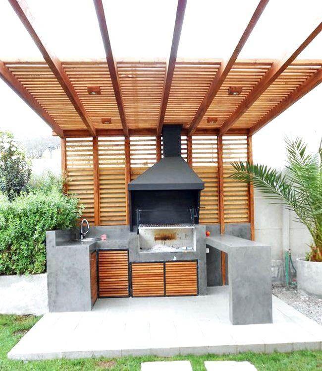 Outstanding Outdoor Kitchen Design Ideas Uk Exclusive On Homesable Home Decor Buitenkamers Achtertuinen