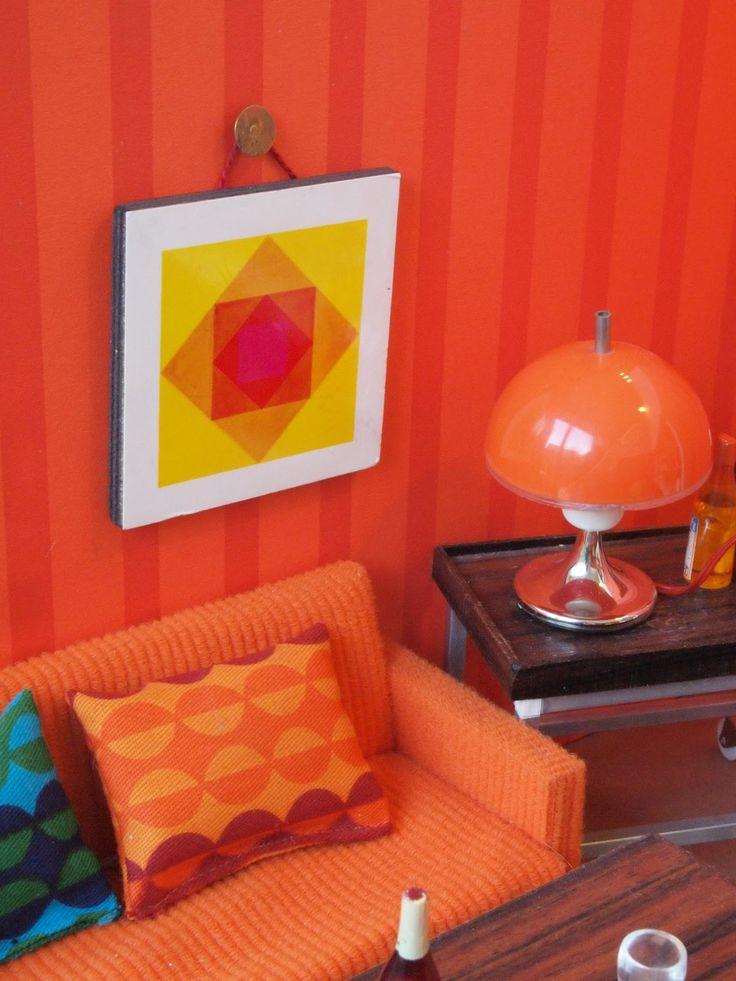 diePuppenstubensammlerin: Doppelstube - 1968-1975 Bodo Hennig - double room box