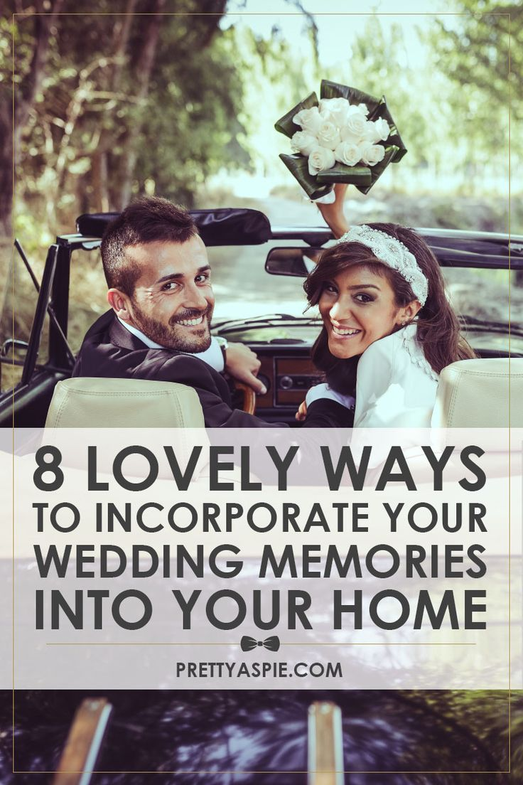 8 lovely ways to Incorporate Your Wedding Memories into Your Home Decor