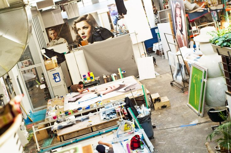 Visiting Artists - Urs Fischer. W magazine