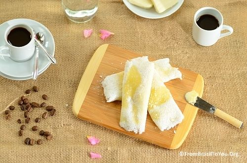 Brazilian Breakfast and Tapioca Crepes with Cheese - From Brazil To You