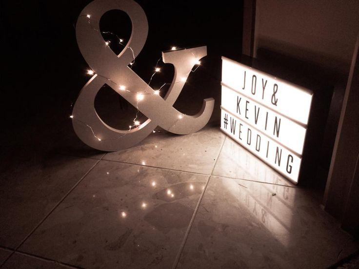 Light box & sign