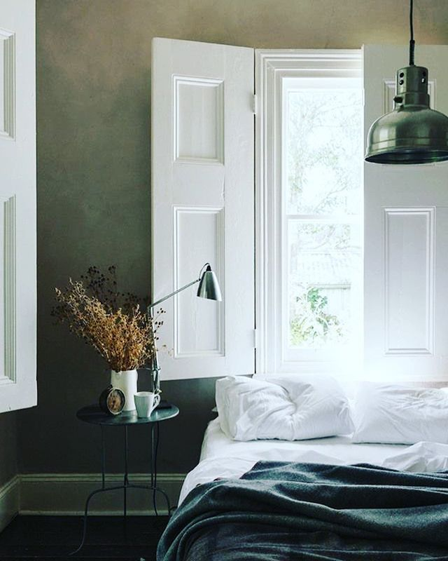 A perfect night for solid shutters #shutters #interiorsolidshutters #recent #bedroomshutters #battendownthehatches #bespokefurniture #shuttersdublin @shutterco_nhi