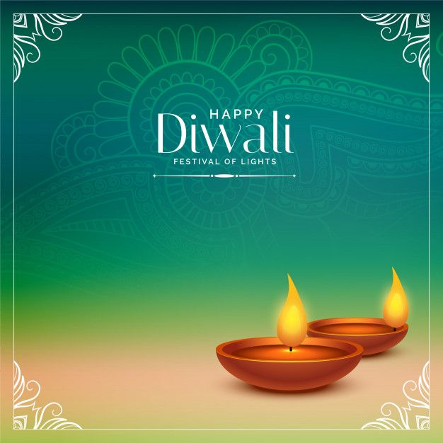 Happy Diwali Beautiful Background With Realistic Diya Free Vector Free Vector Freepik Vector Freebackground Happy Diwali Happy Diwali Images Diwali Images