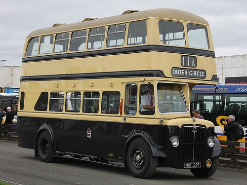 MOF 225 Preserved 1954 Daimler CVG6 / Crossley - Birmingham City Transport 3225