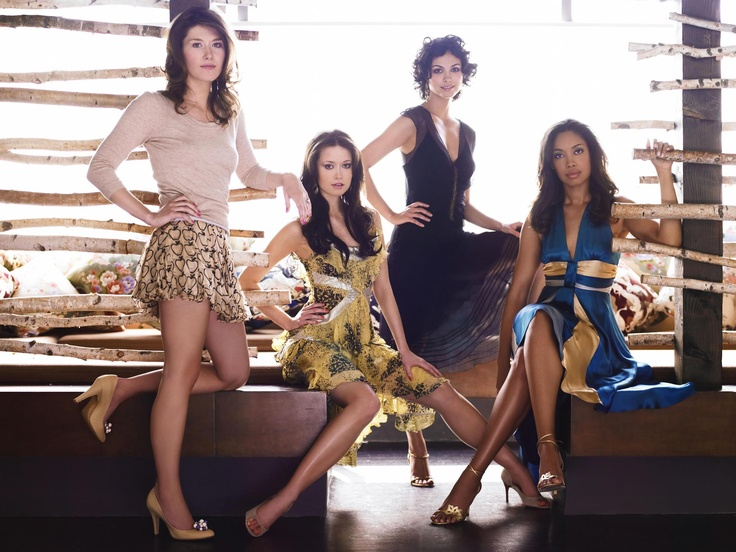 All the lovely Ladies from the crew of the fabulous #Firefly;  Jewel Staite, Summer Glau, Morena Baccarin, Gina Torres