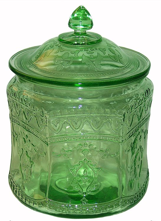 Depression Glass Colors and Patterns   Glass Company of Columbus, Ohio produced this Depression Glass pattern ...
