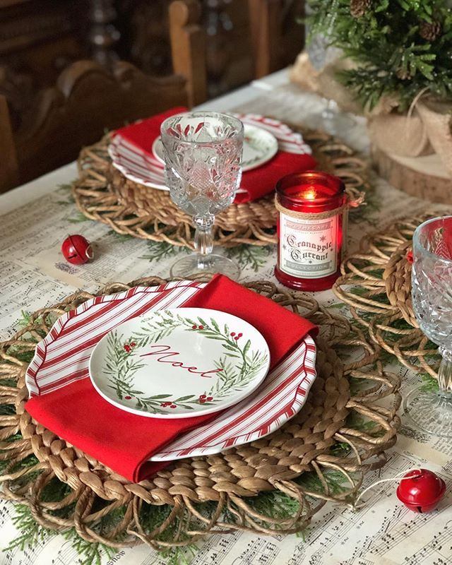 pin by lashawne hansen on place setting in 2019 christmas rh pinterest com