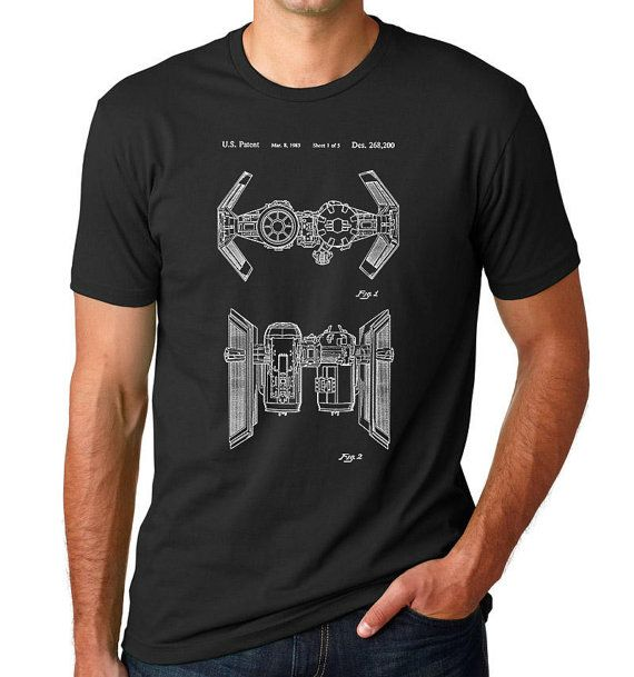 Star Wars TIE Bomber brevet T Shirt, chemise de Starwars, Shirt Star Wars,