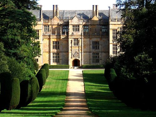 Montacute House, a late Elizabethan country house in the South Somerset village of Montacute